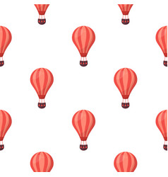 pattern balloons vector image