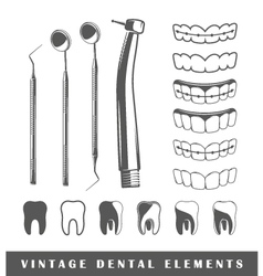Set of elements of the dentist vector