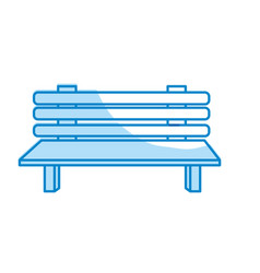 Silhouette comfortable chair to relaxation object vector