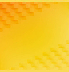 yellow and orange abstract background vector image