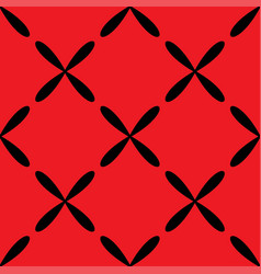 seamless abstract vintage red pattern vector image vector image