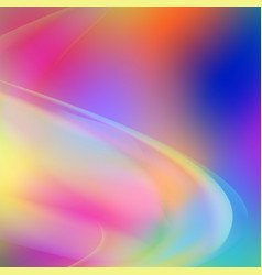 abstract colorful shape background vector image
