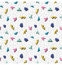 Abstract mosaic seamless pattern vector