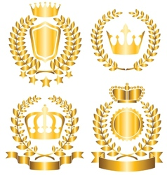 award lable vector image