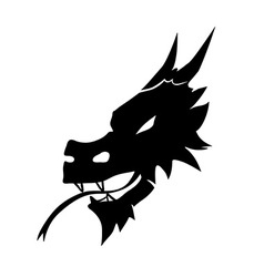 Devil head symbol vector
