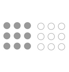 dial button it is icon vector image