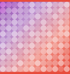 geometric background of circles round mosaic vector image