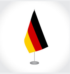 Germany flag on white background vector