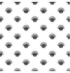 global communication pattern seamless vector image
