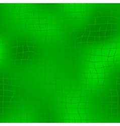 Green seamless background with grid vector image