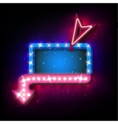 Realistic 3D light background vector