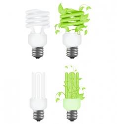 power saving concept vector image
