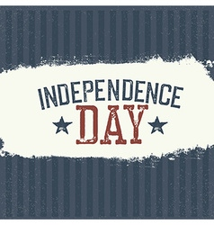 Independence Day Label for Holiday Design template vector image vector image