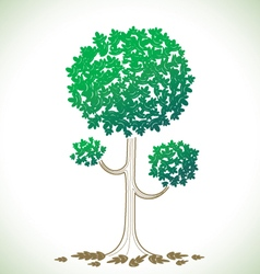 tree a vector image