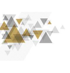 abstract luxury background design triangle vector image