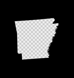 Arkansas us state stencil map laser cutting vector