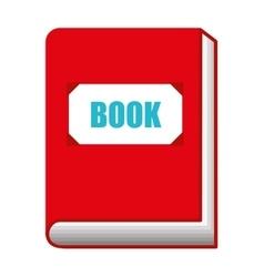 book text school icon vector image