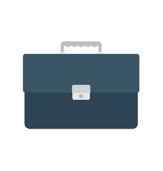 briefcase with lock vector image