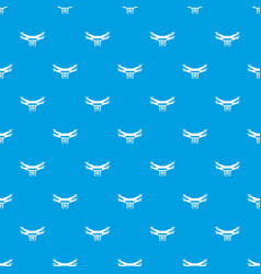 drone video camera pattern seamless blue vector image