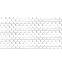 seamless sea pattern with black sailing ships vector image