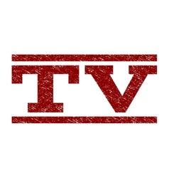 TV Watermark Stamp vector