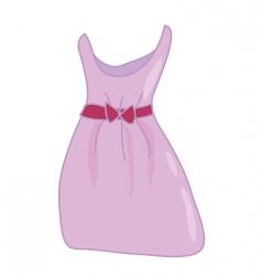 Woman's summer dress vector