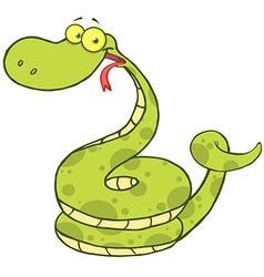 Snake Cartoon Mascot Character vector image vector image