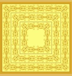 border design bandana image vector image
