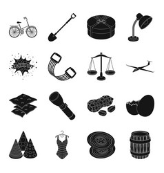 Clothes fitness transportation and other web vector
