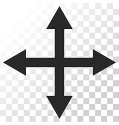 Expand Arrows Icon vector image