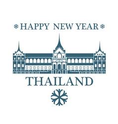 Greeting Card Thailand vector image