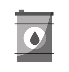oil barrel icon vector image