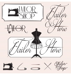 Set templates for promotional signage vector