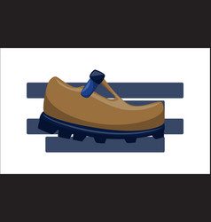 Shoes back to school template vector
