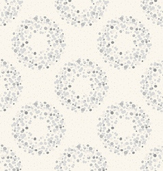 Stylish dots texture A seamless polka dot vector