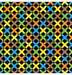 Color pattern 07 vector image