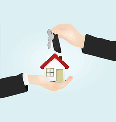 Keys house sale concept vector