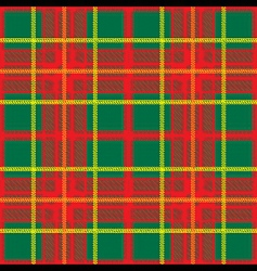 traditional scottish plaid seamless pattern vector image vector image