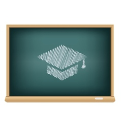 board academic cap vector image