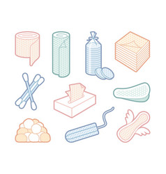 hygiene means vector image