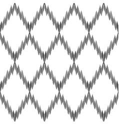 ikat seamless pattern fashion wallpaper vector image