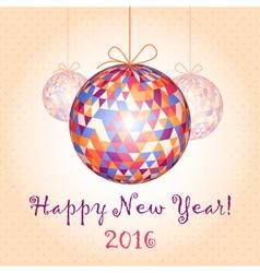 New Year Balls 2 vector