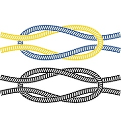 Simple marine knot vector image