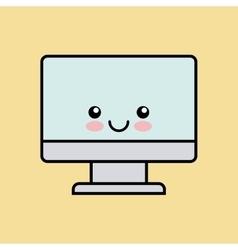 technology computer icon design vector image