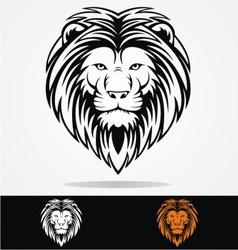 Tribal Lions Head vector image vector image