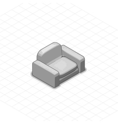 Armchair or couch vector image