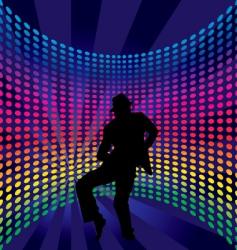 nightclub dancer vector image vector image
