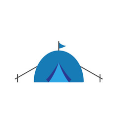 camping icon design template isolated vector image