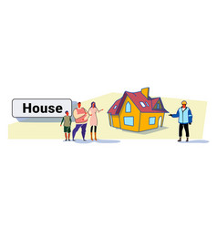 family called repairman house renovation concept vector image