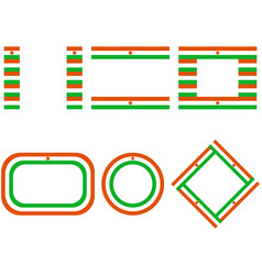 Flags niger with copy space vector